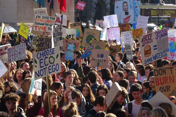 School Students Strike for Climate Action