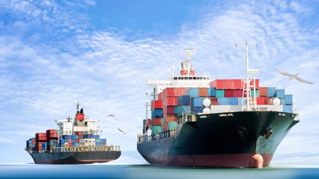 Freight Transportation Distribution Warehouse Ship Shipping Nautical Vessel