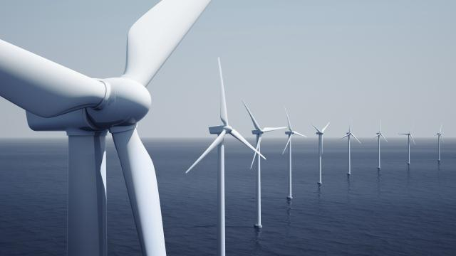 Renewables windpark sea offshore