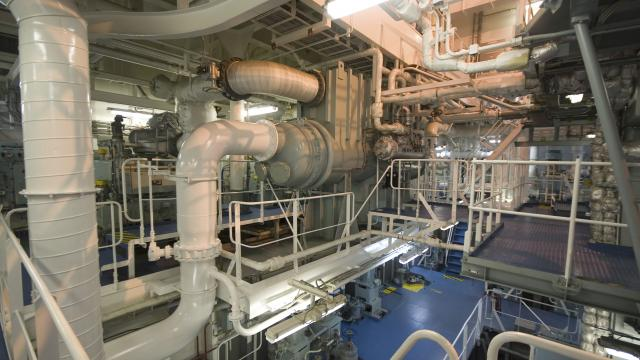 Shipping Engine Room Engine Pipe Tube Fuel and Power Generation