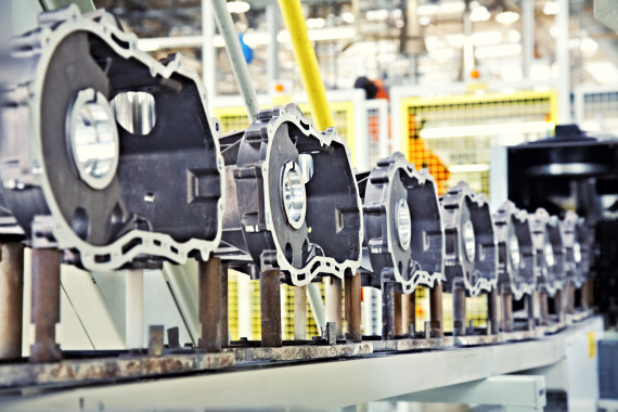 Vehicle manufacturing line