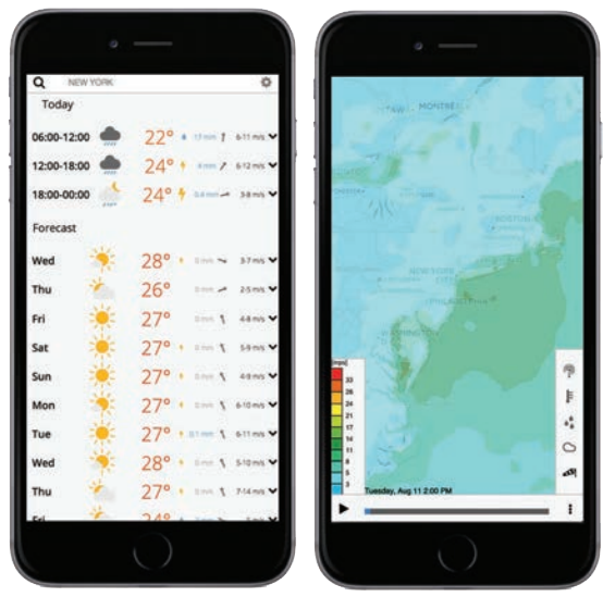 mobile online global weather2