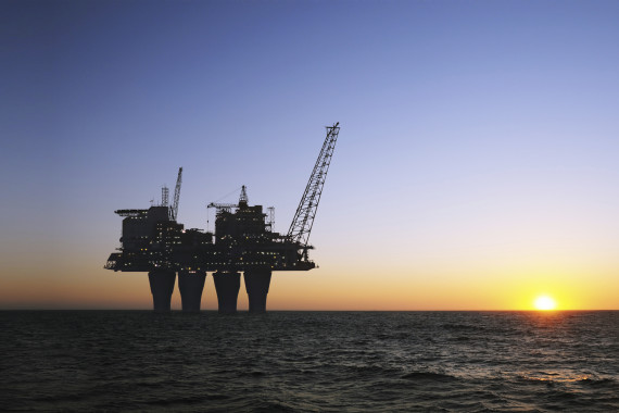 offshore platform sunset (weather forecast service)