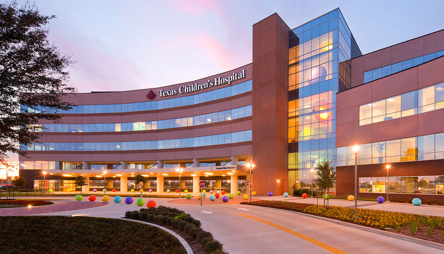 texas childrens hospital front